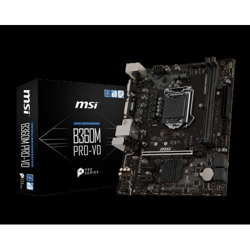 Bo mạch chính/ Mainboard Msi B360M Pro-VD