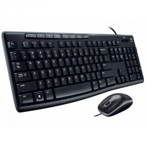 Bàn phím+Chuột máy tính Logitech MK200