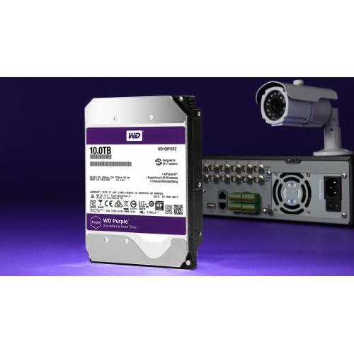 Ổ cứng HDD Western Digital Purple 10TB - WD101PURZ