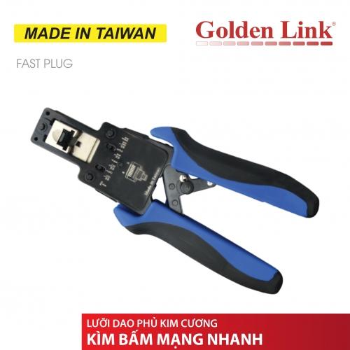 Kèm bấm nhanh CAT5E & CAT6 Golden Link (Xuyên thấu )